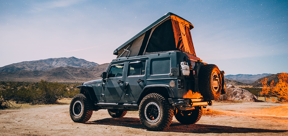 Overlanding In a Jeep? Buy The Right Equipment & Gear!