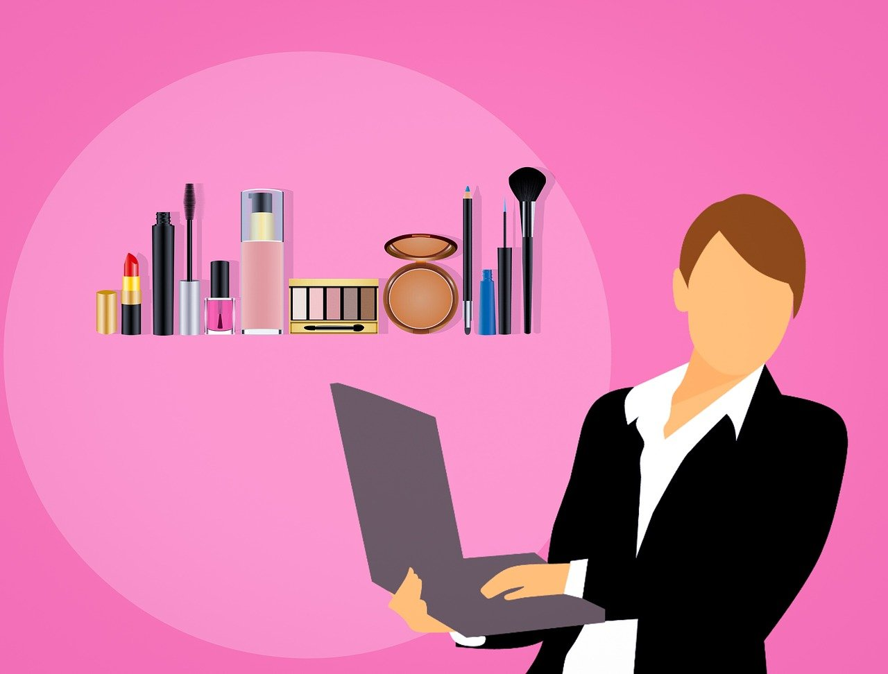 Get all your beauty products in an online cosmetic store